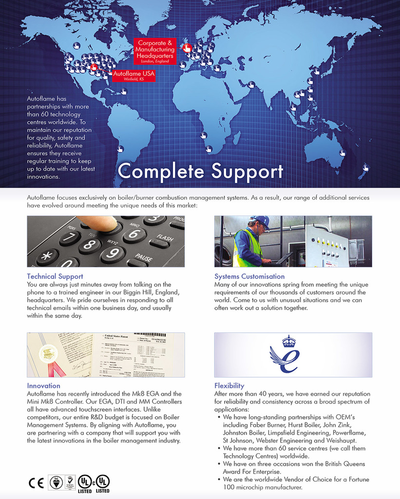 Autoflame Engineering Burner Combustion Systems Ajax Boiler Wiring Diagram Industrial And Commercial Controls